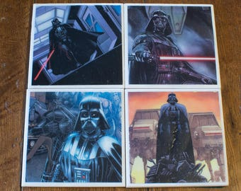 Star Wars Darth Vader Coaster 4-Pack