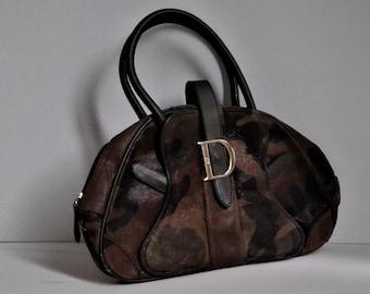 cc8cbe9f6479 Christian Dior Saddle Bowler Handbag