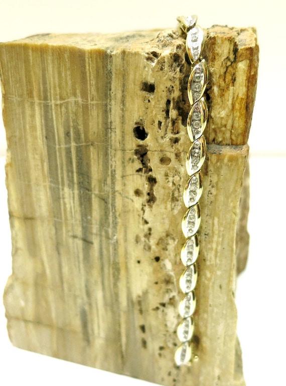 diamond tennis bracelet one carat | diamond tennis