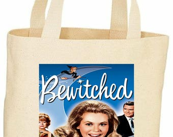 bewitched custom tote bag