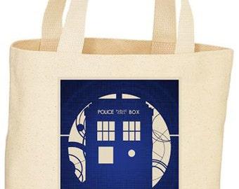 Custom Dr. Who Tote bag market bag