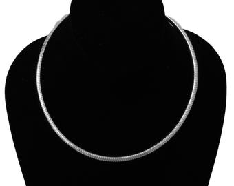 Neck Ring,Metal Choker,Seachangeables,Pendent Collar,Metal Choker Necklace,Interchangeable Pendents Wire Collar