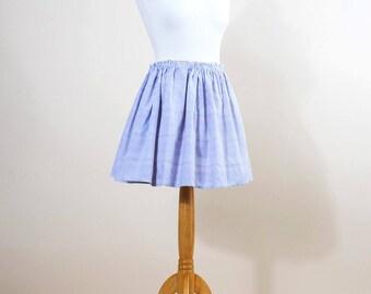 Reversible skirt stripes