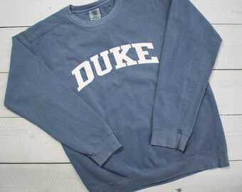 7b0c4aa22 Customized School Comfort Colors Sweatshirt - Block Lettering - SHIPPING  INCLUDED