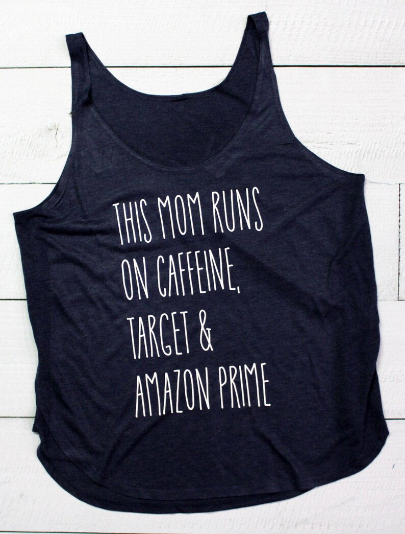 8b6229c5 This Mom Runs on Caffeine Target & Amazon Prime Slouchy | Etsy
