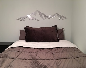 5ft Capitol Peak 14,115 feet. Colorado 14er. Metal wall art. Fourteener art. Colorado 14ers. Outdoorsy gift. Mountain artwork. Modern art