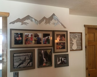 4ft Vail pass. Colorado mountains, Snowmobile mountain, Vail colorado. Log cabin art. rustic decor.