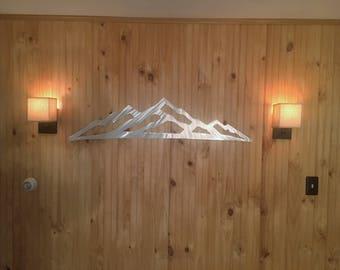Arapahoe Basin ski resort. A Basin Mountain. Skiing and Snowboarding art. Backcountry hiking. Ski lodge. Ski condo artwork. Metal wall art