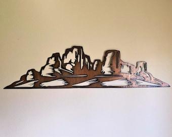 "Canyonlands National Park 8.5x11/"" Photo Print Carved Desert Colorado River Utah"