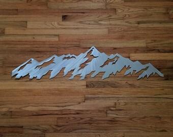 3 foot Telluride Mountain range