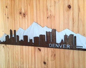 Denver Mountain Range. Mt. Elbert. Denver Colorado. Denver Skyline. City Landscape. Denver Artwork. City life. Foothills. Mile high city
