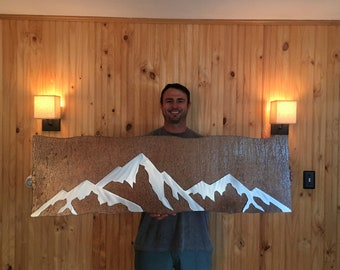 Colorado 14er mountain, Gift for hiker, nature love, outdoor enthusiast. Summer artwork. Summit. Rock climbing, Day hike, Hiking partner