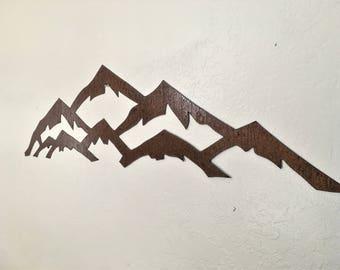 3 ft. Vail Ski Resort In rustic steel
