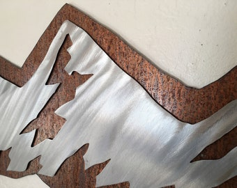 Boulder Flatirons. Mountain wall art, Nature lover, University of Colorado, CU, Colorado Buffaloes, Metal wall art, Gift for Hikers, Hiking