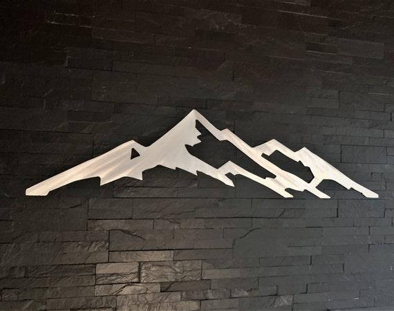 Collegiate Peaks. Mt. Yale 14er. Mountain art Colorado. Gifts for hikers. Metal wall art
