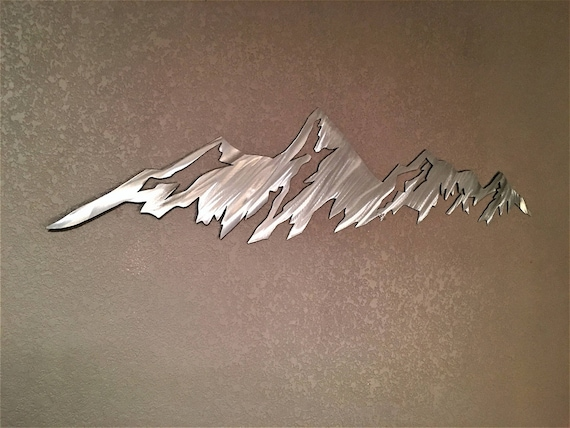 Boulder Flatirons Metal Wall Art. University of Colorado Boulder. Graduation Gift Idea. Hiking decor. CU