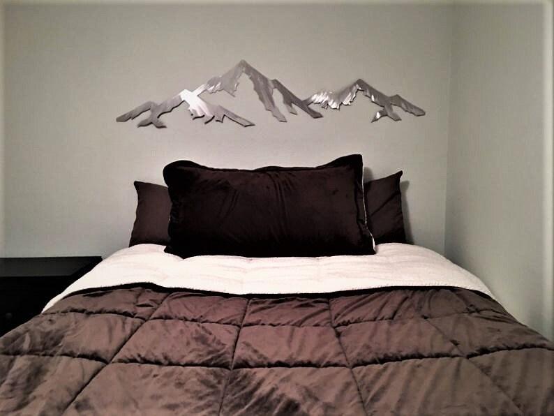 Colorado Rocky Mountain. Capitol Peak 14er. Metal art image 0