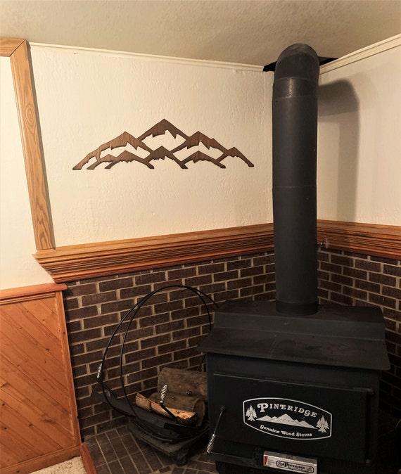 Vail ski resort. Rustic Colorado mountain artwork. Mountain wall art. Home decoration