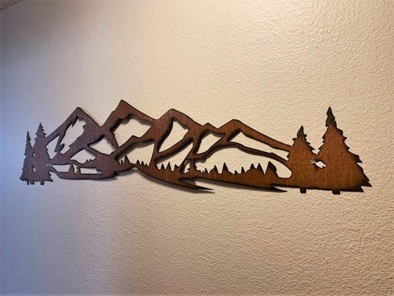Colorado Mountain Art. Winter Park Ski resort. Rustic Decor Mountain Artwork. Mary Jane ski lift. Gift for skier. Snowboarding art