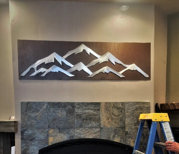 Vail Colorado Ski Resort art, Snowboarding and Skiing artwork. Ski lodge decor. Mountain home, Colorado decor