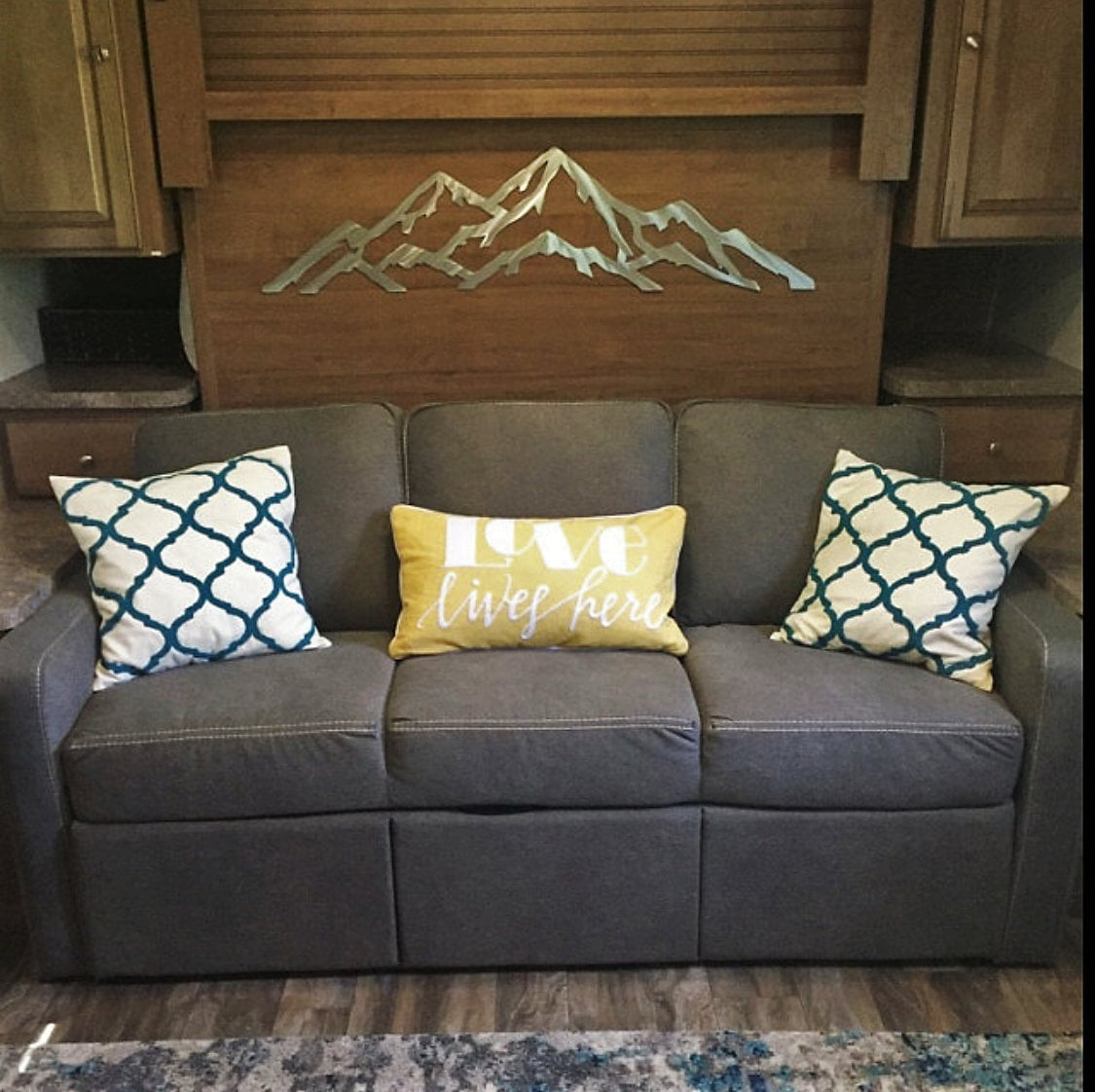 Metal Wall Art Mountains. Aspen Mountain, Aspen Highlands And Buttermilk.  Skiing And Snowboarding. Gift Adventures
