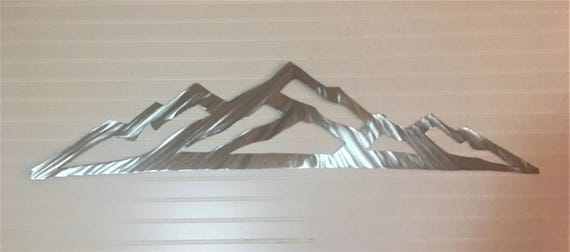 Arapahoe Basin Metal Wall Art. Colorado ski resort. A-Basin skiing and snowboarding mountain. Ski Lodge decor.