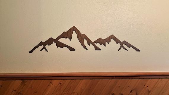 Capitol Peak. Colorado Mountain. Hiking Fourteener Art. Gift for hiker. Rustic Decor.