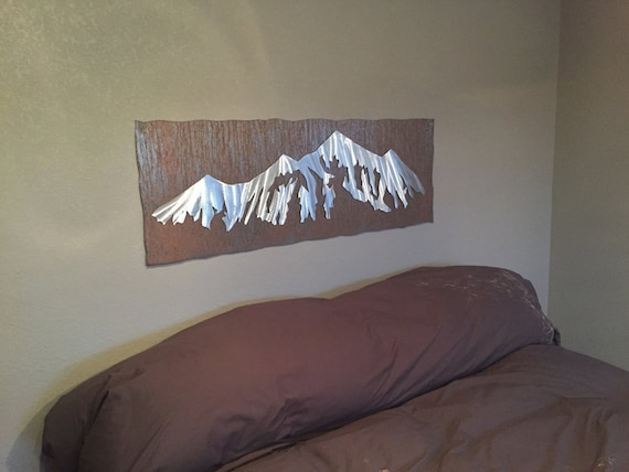 Piece Most sold, Master bedroom decor, Mountain ranges, Kitchen decoration, Home decor, Master bedroom art, Rustic fall decor, College art