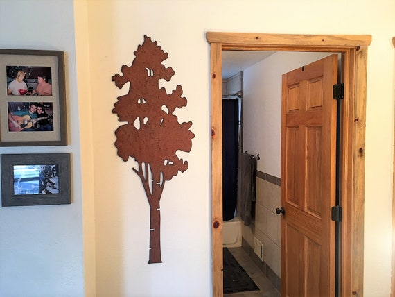 Rustic aspen tree. Mountain home decor. New home gift