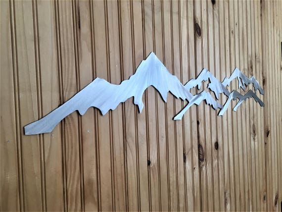 Loveland Pass (Left) Loveland ski resort (Right) Mountain artwork 4 foot