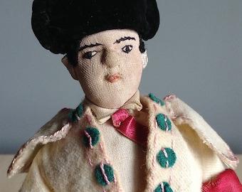 Toreador Bull Fighter Doll Spain 1950s