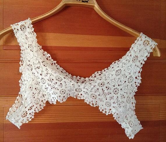 Antique Crocheted Camisole Bodice