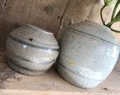 Chinese porcelain pots