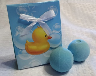 Gift - 2 Pack - Small Bath Bombs - Fun Bath Time - Bath Fizzies - Shower Steamers - Bath Treat - Bath Bomb - Relaxing - Baby Shower