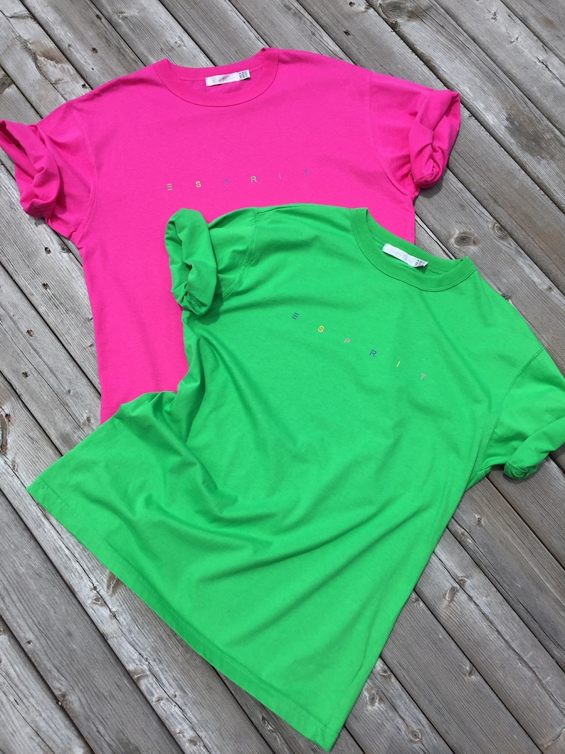 b7dd1f74 ESPRIT De Corp Women's 100% Cotton Short Sleeve CREW | Etsy