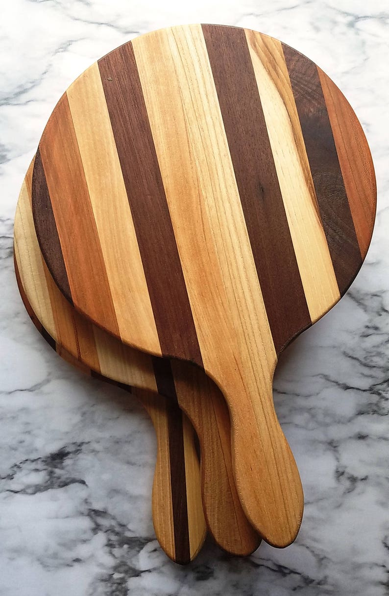 Wood Paddle Cutting Board  Perfect gift for cooks image 0