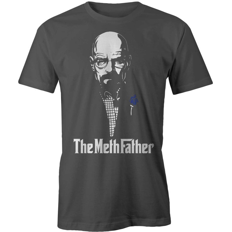 2b2c333fc Bad Meth Father T-shirt Breaking Bad Heisenberg Godfather Pa   Etsy