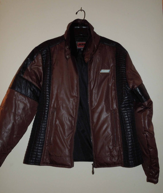 sección especial disfruta el precio de liquidación completamente elegante Vintage Women's Steve Madden Black//Brown Bomber Jacket   Etsy