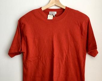 e8d699ea Vintage Orange Shoulder Pad Shirt