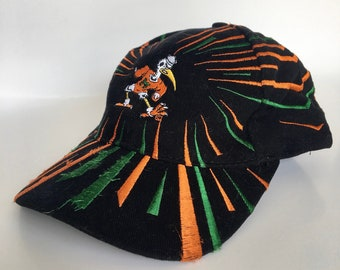 Vintage University of Miami Hurricanes Hat 65d3236154b