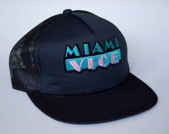 6148647f ... buy vintage miami vice 80s cap with tags hat a56b9 e4b86