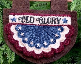 Old Glory Punch Needle