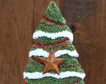 Oh Christmas Tree Punch Needle Kit