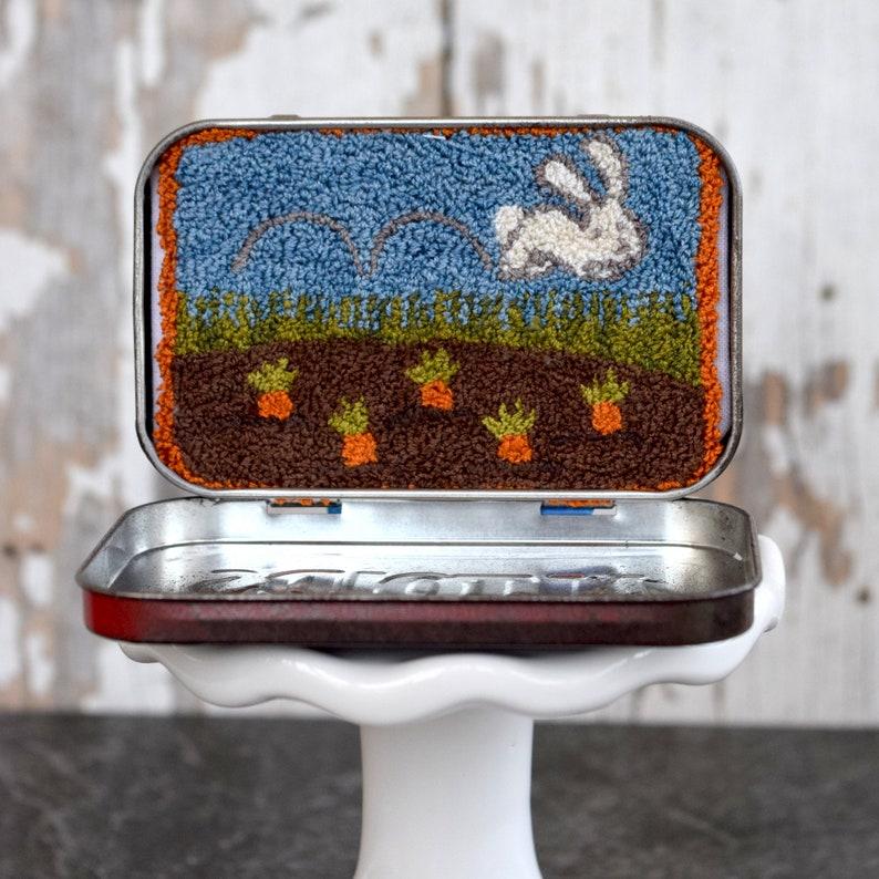 Little Bunny Hop Hop Punch Needle Kit image 0