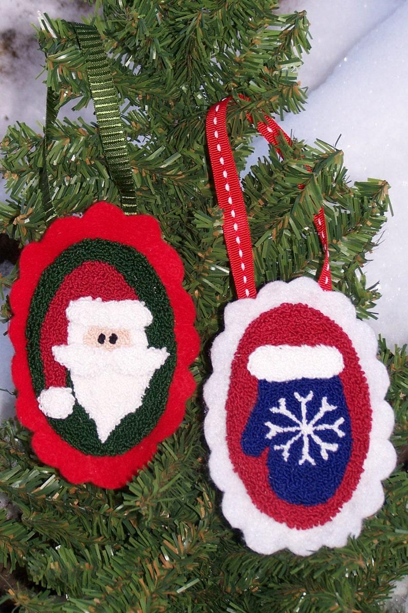 Christmas Doodads II Punch Needle Kit image 0