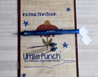 Ultra Punch® 3 Needle Set + 2 Threaders