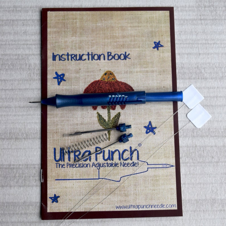 Ultra Punch® 3 Needle Set  2 Threaders image 0