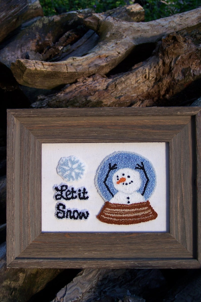 Let it Snow Punch Needle Kit image 0