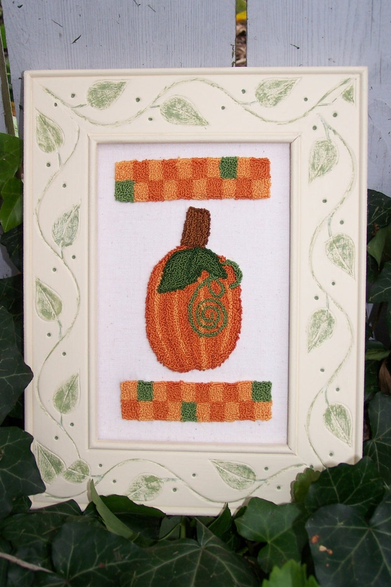 Pumpkin Patch Punch Needle Kit image 0