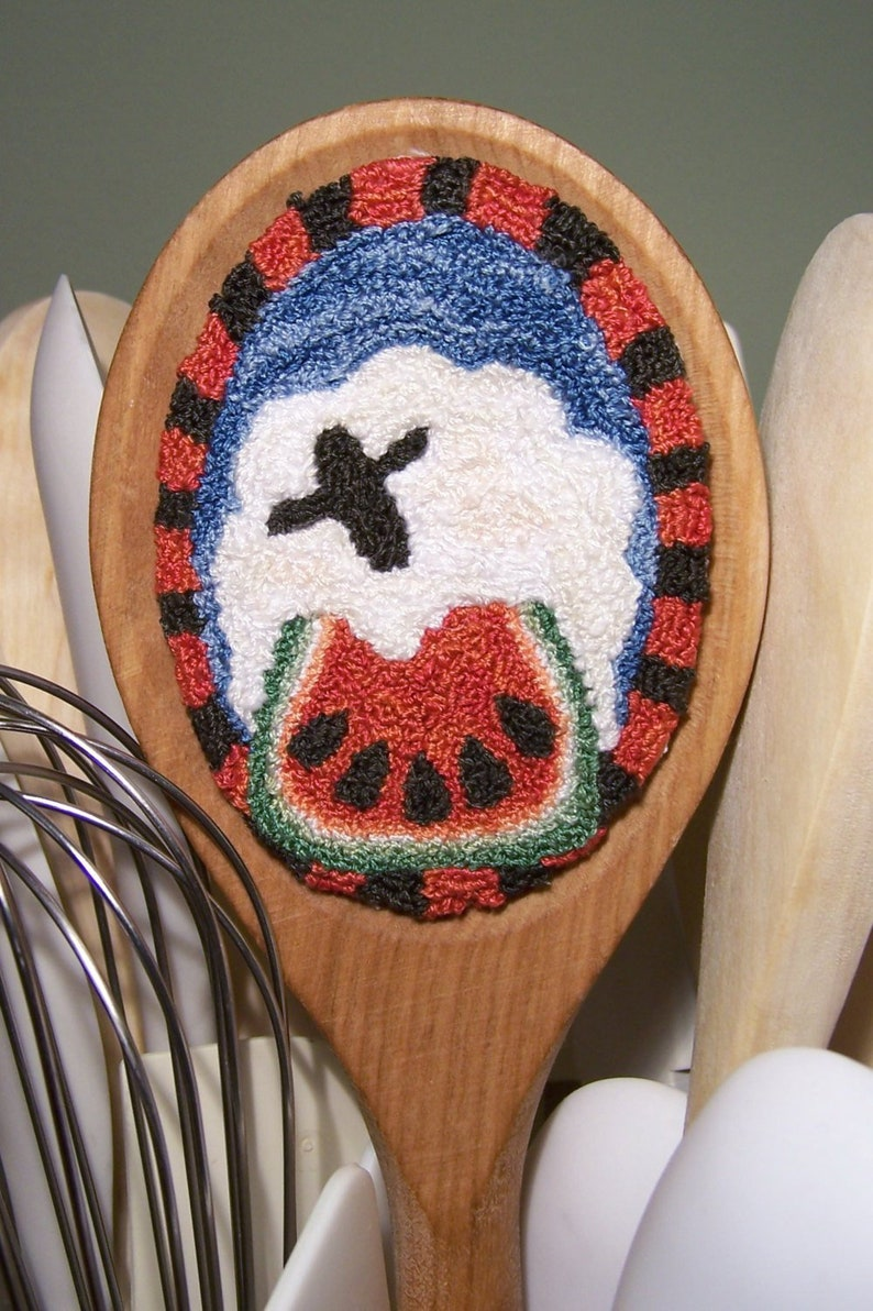 Sweet Sheep Treat Punch Needle Kit image 0